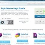 Mac用ビギナー向けホームページ作成ソフトの定番 RapidWeaver に初のメガバンドルが90%オフで登場!