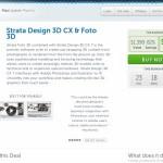 Strata Design 3D CX & Foto 3D が82%オフの$249で販売中