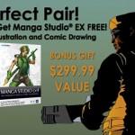 Poser 9 を買うと Manga Studio EX 4 が無料で貰えるキャンペーン
