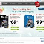 Roxio Holiday Sale! Toast とビデオキャプチャツールのセットが最大$110オフ!日本までの送料は$9!さらに15%オフクーポンも使えました