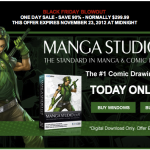 Manga Studio EX 4 が驚異の90%オフ!まもなく終了!