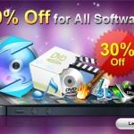 各種変換ソフトが充実している Aiseesoft の全製品が30%オフ!