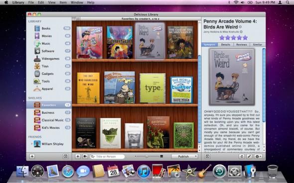 バーコードで簡単登録!蔵書管理アプリ『Delicious Library 2』が71%オフ