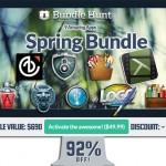 動画編集アプリ Camtasia for Mac など9アプリをセットにした Bundle Hunt Spring Bundle が92%オフの$49.99で販売中!