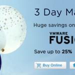 父の日&卒業セール!VMware Fusion 5 Professional が30%オフ!VMware Workstation 9 は20%オフ!アップグレードもお得な30%オフで販売中!