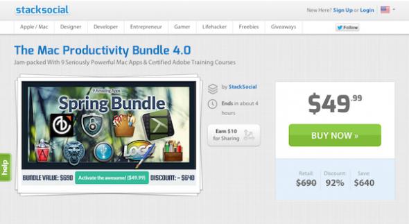 The Mac Productivity Bundle 4.0 Sale | StackSocial