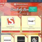 総額$456のデザイン素材やWordPressテンプレートがたった$7で購入できる Bundle Hunt『14+Creativity Bundle』