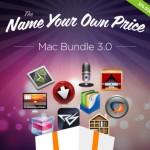 総額412ドルのアプリが販売直後なら約1ドルで買える!?the Name Your Own Price Mac Bundle 3.0 本日午後9時から