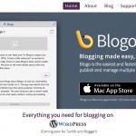 WordPress用ブログエディタ『Blogo』が半額の1500円、Tumblr と Blogger にも対応予定