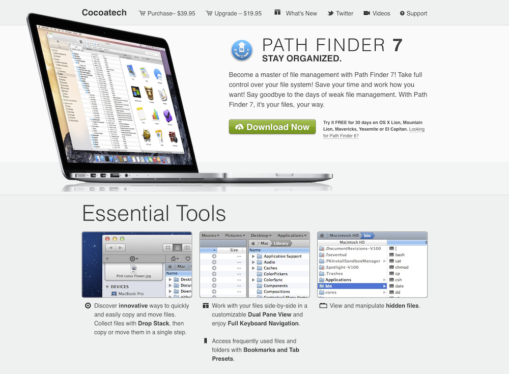 Path Finder 7 by Cocoatech