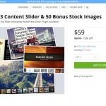 WordPress の有名スライダープラグイン「SlideDeck 3 Developer License」が72%オフの$59で販売中!ライセンスの更新にも