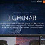 プレオーダー受付中の「LUMINAR」を$でお得に買う方法 / Macphun