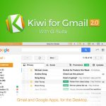 Kiwi for Gmail 2がリリースを記念して50%オフの¥600で販売中です